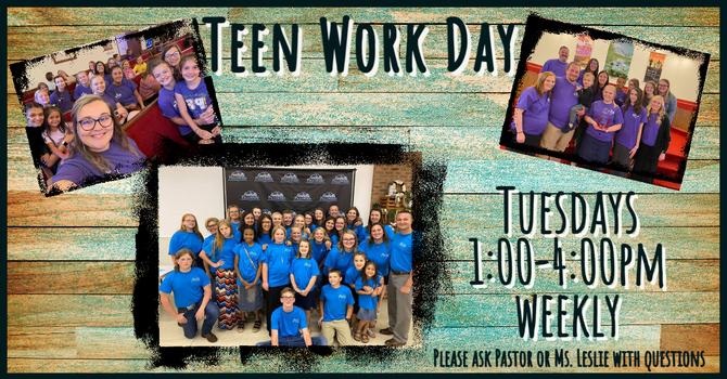 Teen Work Day