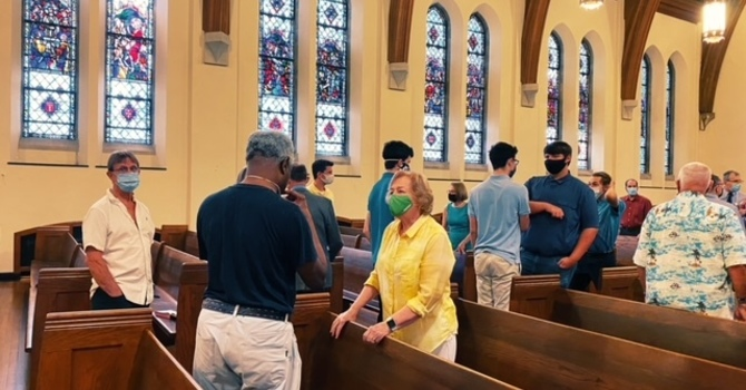 July 25th Indoor Service