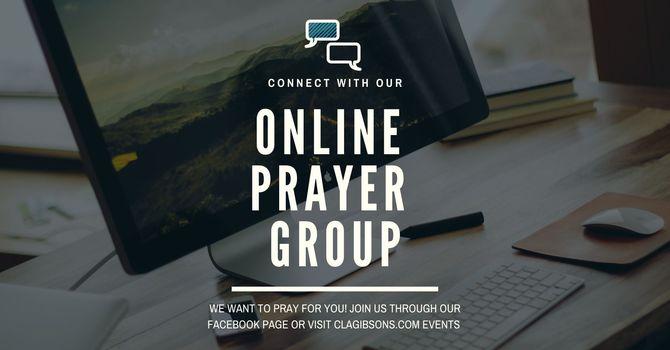 Wednesday Zoom Prayer Group