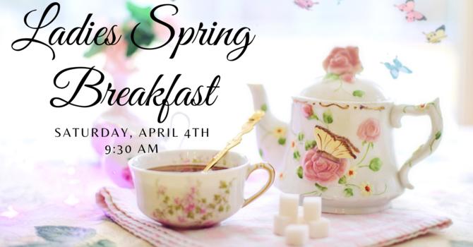 Ladies Spring Breakfast  |  CANCELLED