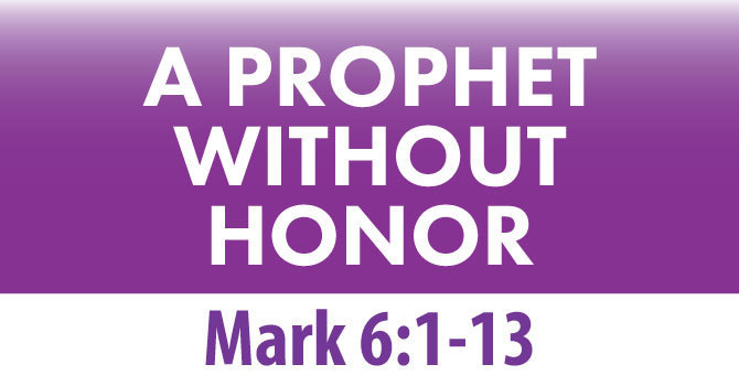 A PROPHET WITHOUT HONOR