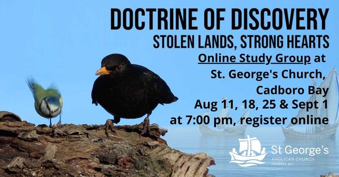 Doctrine of Discovery: Study Group