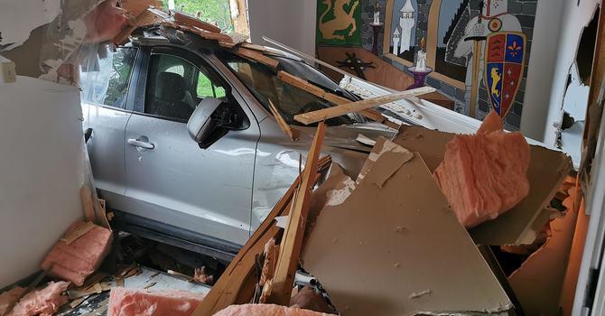 Parish Hall Accident image