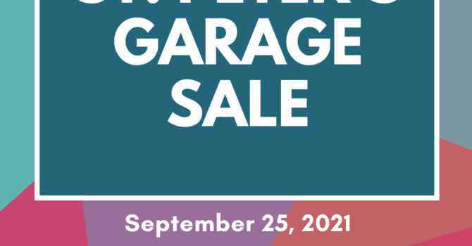 St. Peter's Garage Sale Returns! image