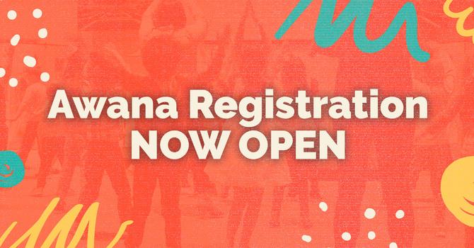 Awana Registration NOW OPEN