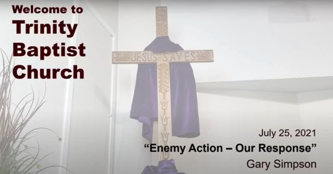Enemy Action--Our Response