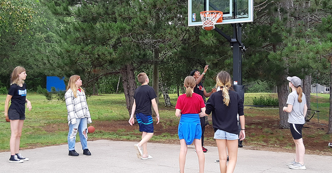 Kids are back at Camp Medley! image