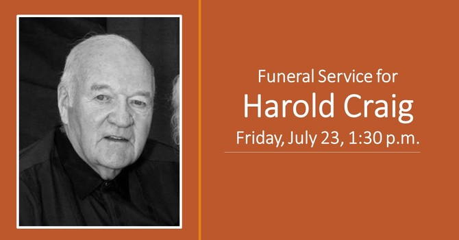 Funeral - Harold Craig