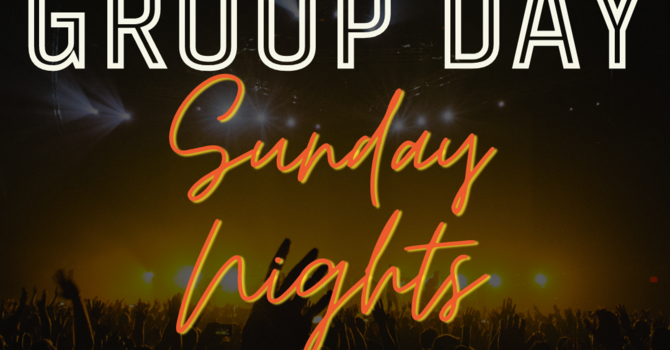 Youth Group moves to Sunday Nights