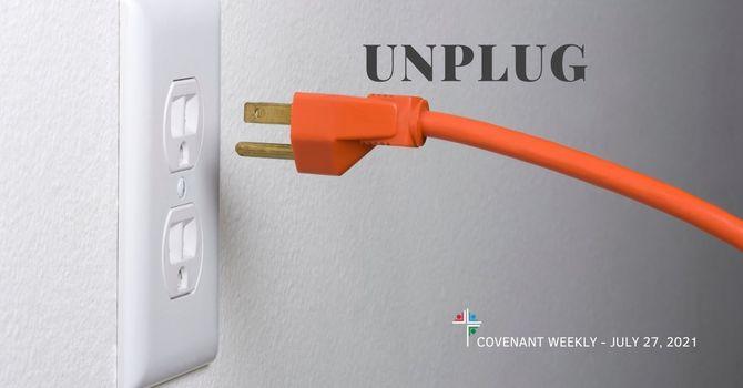 Unplug image