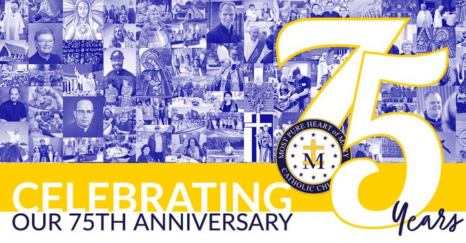 Parish 75th Anniversary Celebrations
