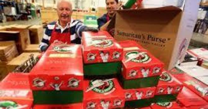 Samaritan's Purse Shoebox Packing Day