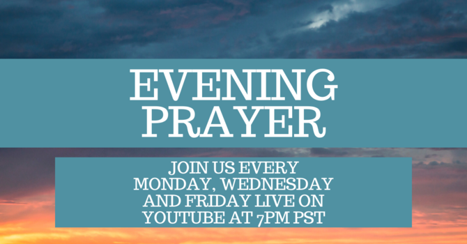 Evening Prayer *Live Streamed*