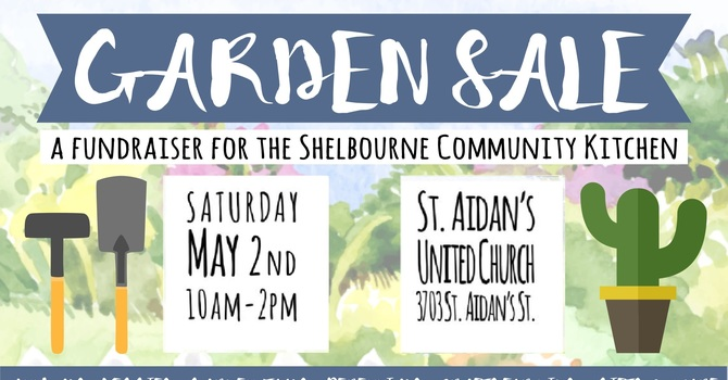 Garden Sale for the Shelbourne Community Kitchen