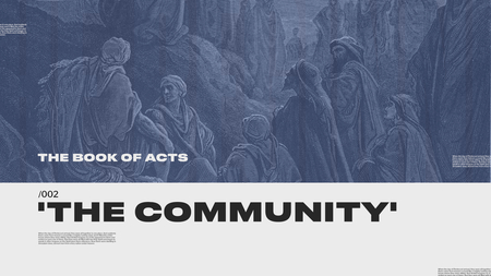 ACTS: The Community