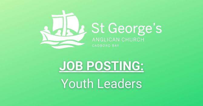 Job Posting: Youth Leaders image