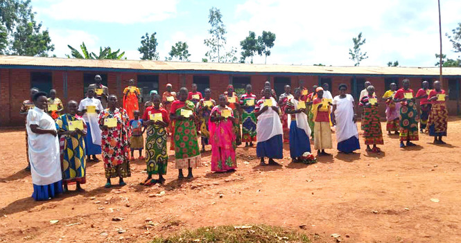 Buye Mother's Union Distributes More Medical Cards to Seniors and Children