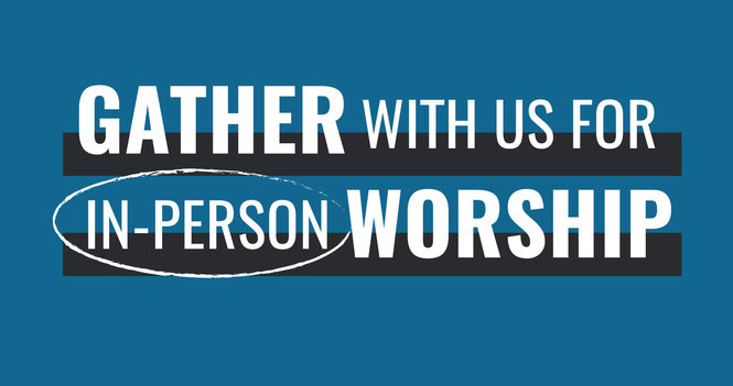 Come Join Sunday Service In-Person or on Zoom