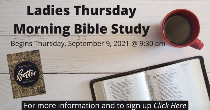 Ladies Thursday Morning Bible Study