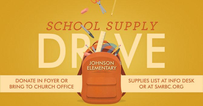 Johnson Elementary School Supply Drive image