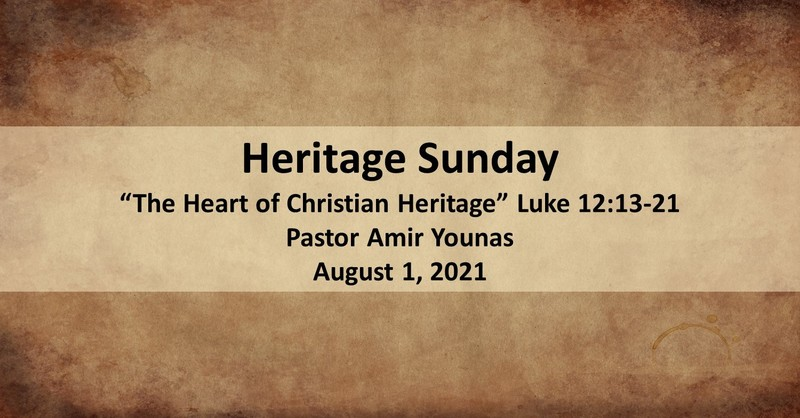 The Heart of Christian Heritage