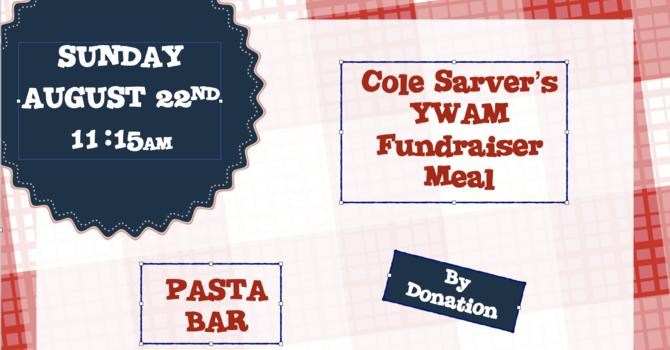 YWAM Fundraiser Meal