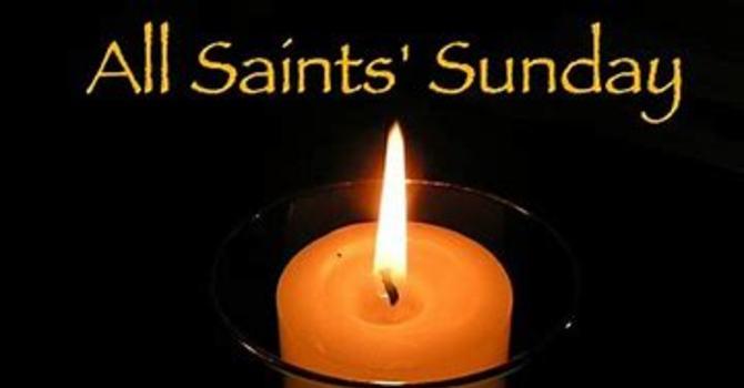 All Saints' Day Sunday Celebration