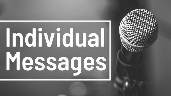 Individual Messages