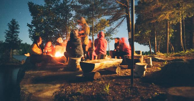 Young Adults Camping Trip