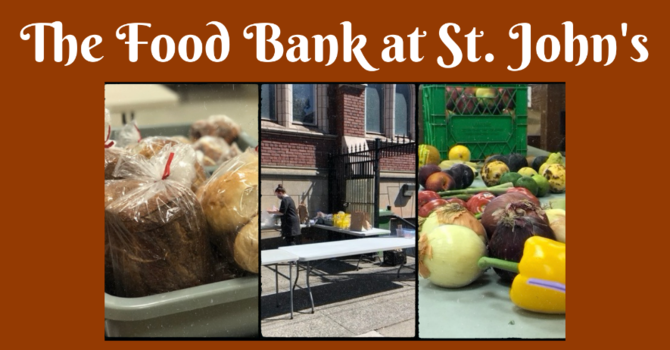 August Outreach: The Food Bank at St. John's