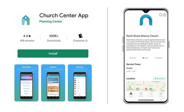 Church Center App