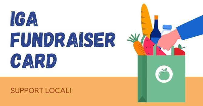 IGA Fundraiser Card image