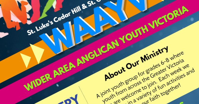 Wider Area Anglican Youth - Victoria - Cancelled