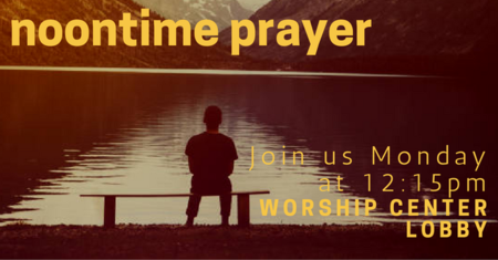 Monday Lunchtime Prayer