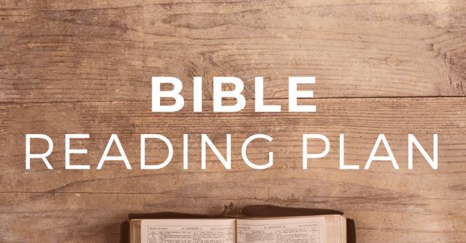 Fall Bible Reading Plan