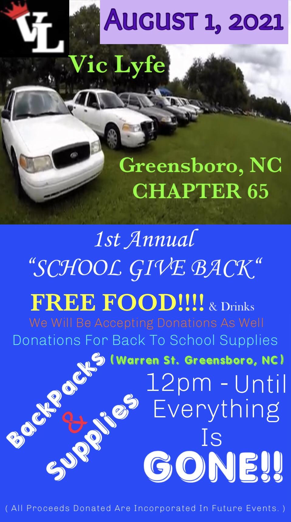 School Give Back