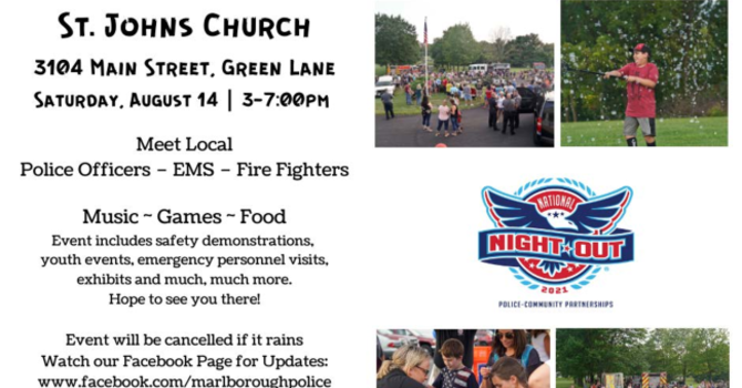 National Night Out is Coming!