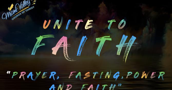 Prayer, Fasting, Power and Faith
