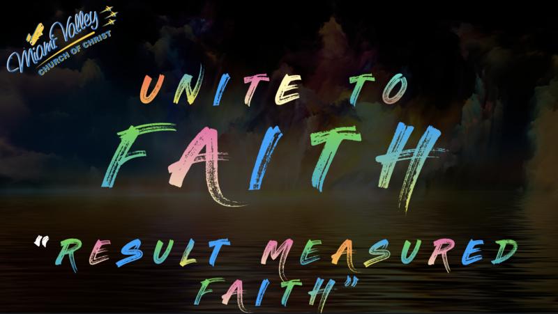 Result Measured Faith