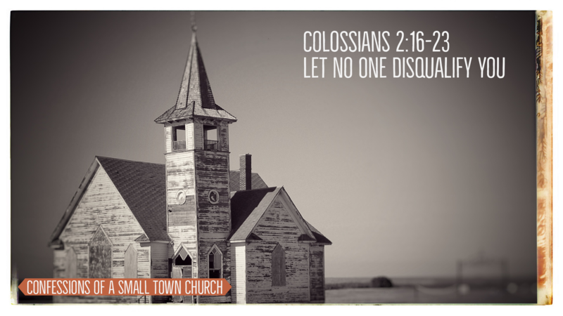 Let No One Disqualify You