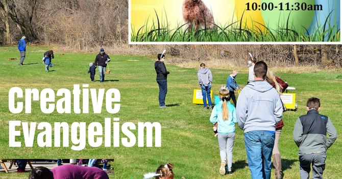 A Socially-distanced Easter Eggstravaganza image