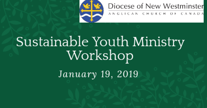Sustainable Youth Ministry Workshop