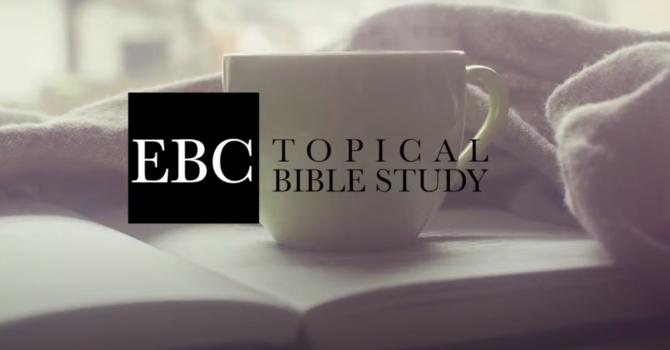 Monday Evening Bible Study