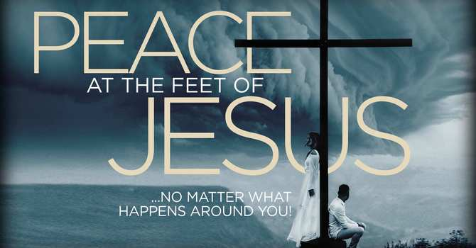 Peace at the Feet of Jesus