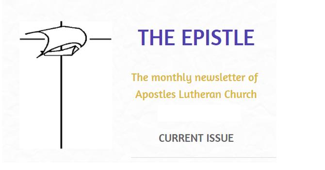 Epistle Newsletter - August 2021 image