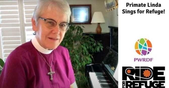 Archbishop Linda Sings for PWRDF image