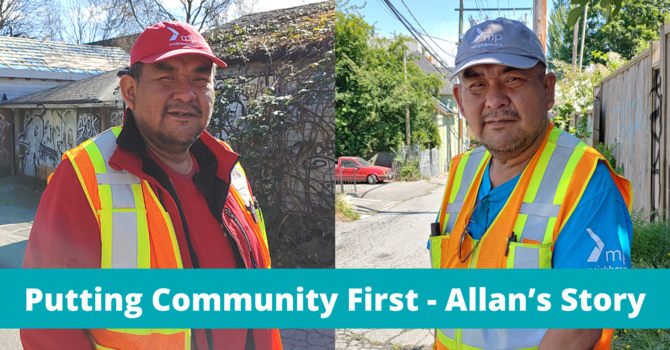 Putting Community First - Allan's Story image