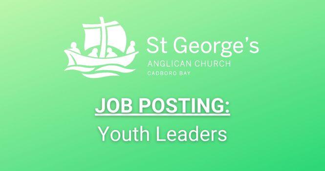 Job Posting: Youth Leaders