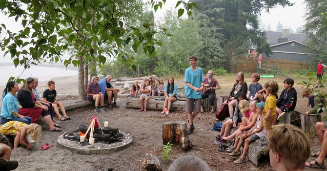Campfire during a fire ban...? image