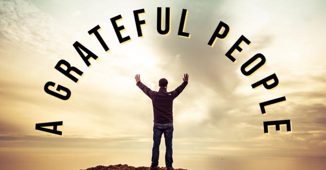A Grateful People